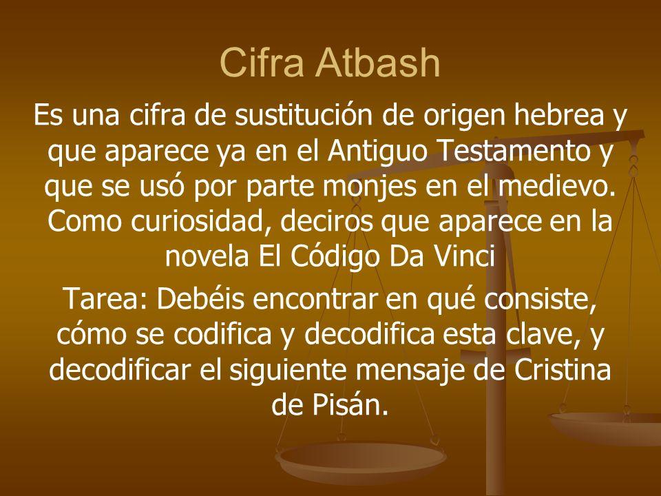 Cifra Atbash