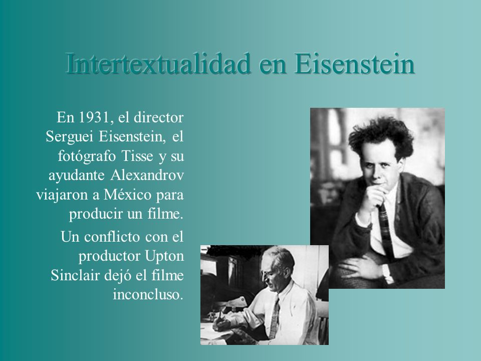 Intertextualidad en Eisenstein