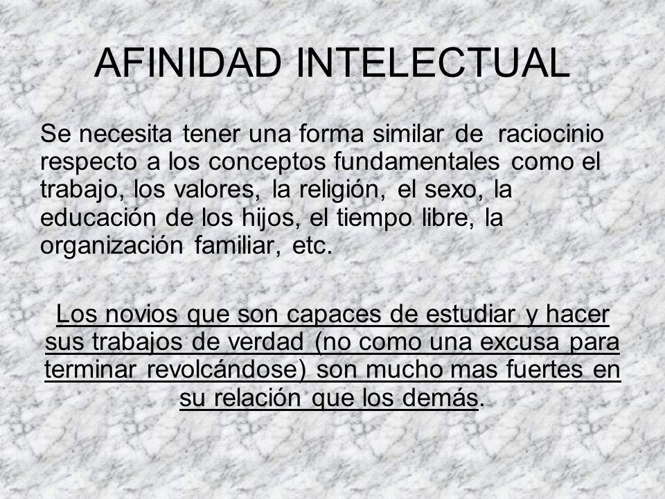 AFINIDAD INTELECTUAL