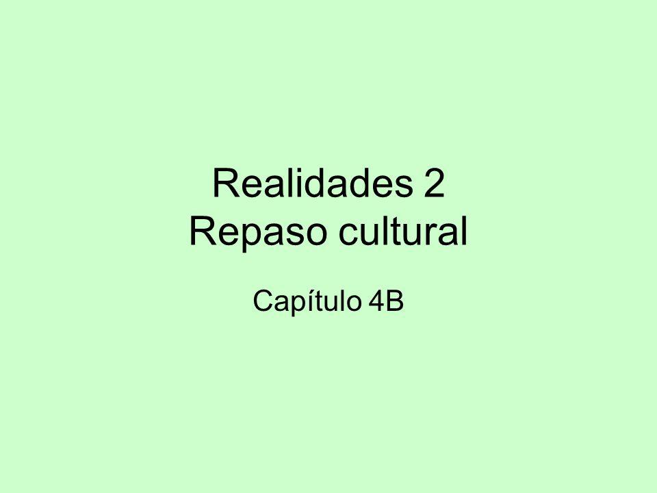 Realidades 2 Repaso cultural