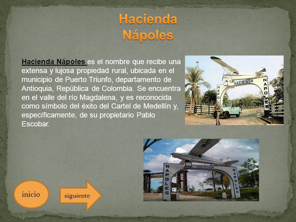 Hacienda Nápoles.