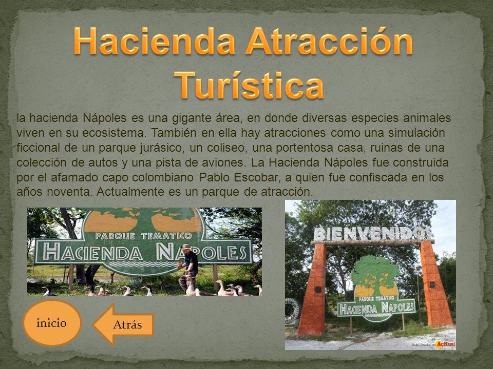 Hacienda Atracción Turística