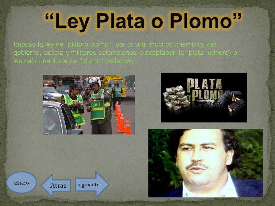 Ley Plata o Plomo