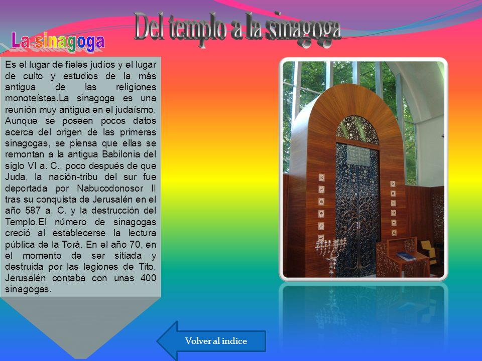 Del templo a la sinagoga