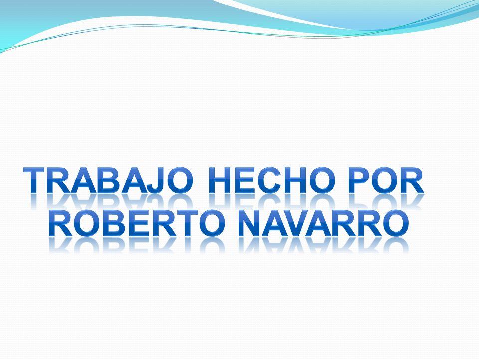 Trabajo hecho por Roberto navarro