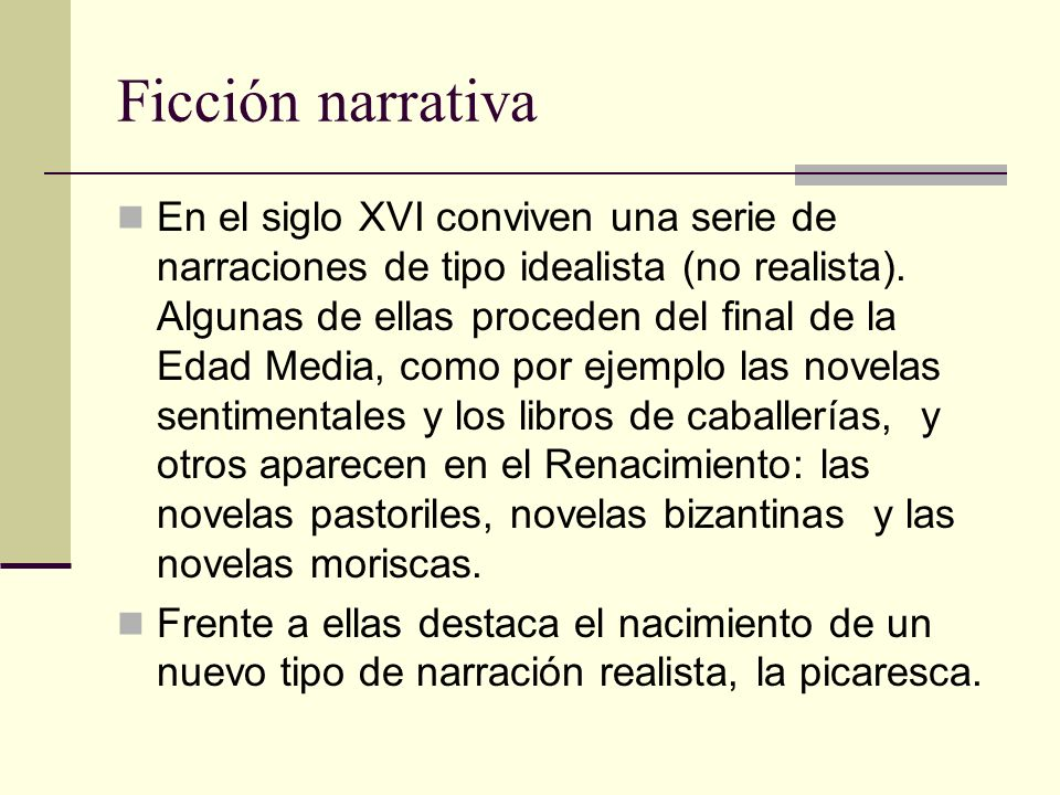 Ficción narrativa