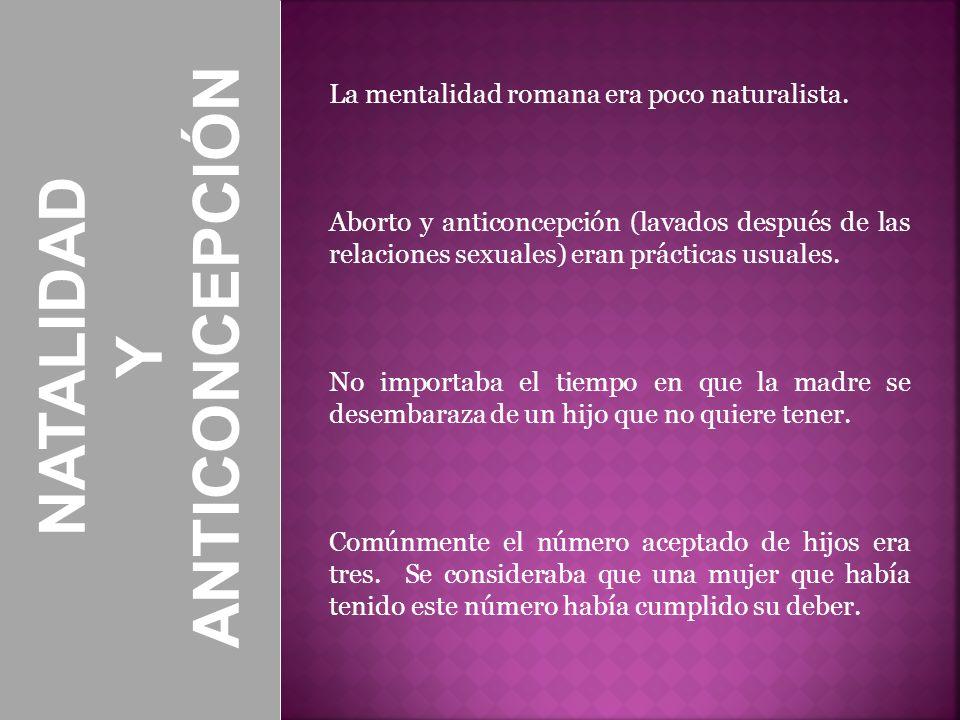 ANTICONCEPCIÓN NATALIDAD Y