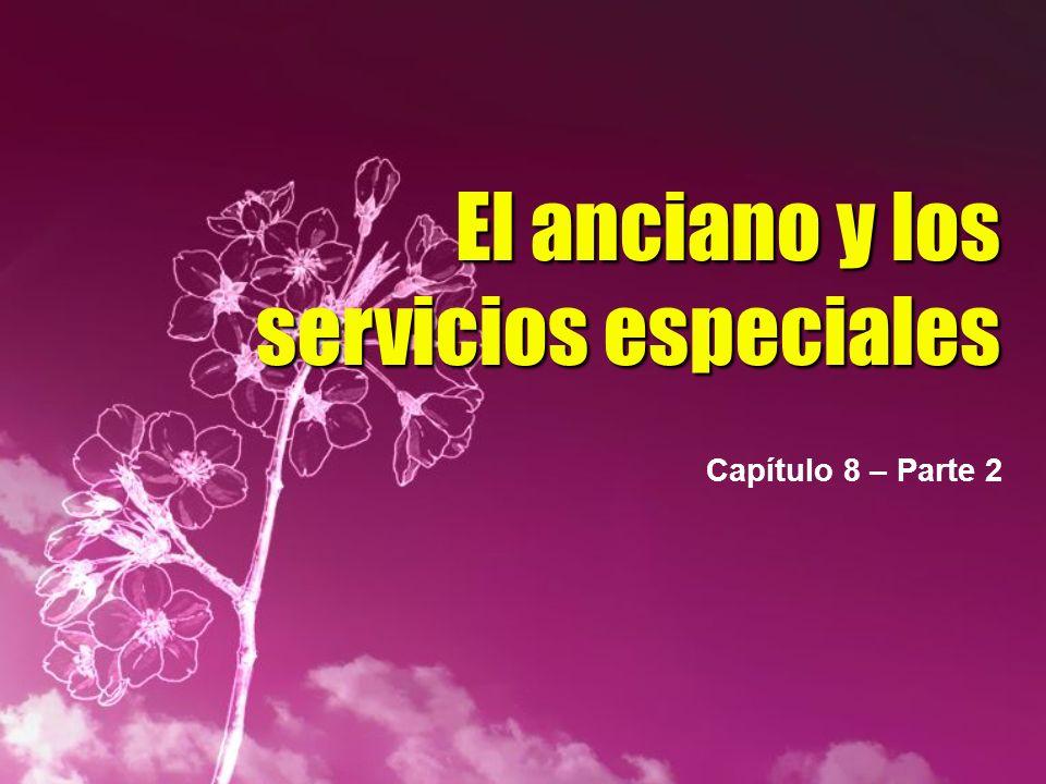 El anciano y los servicios especiales