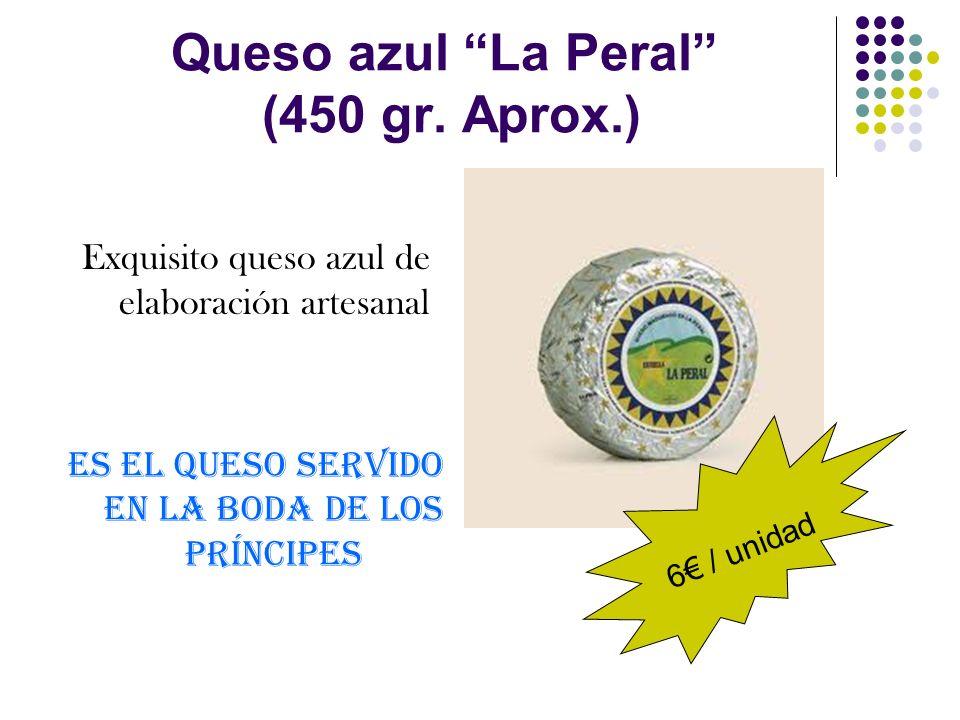 Queso azul La Peral (450 gr. Aprox.)