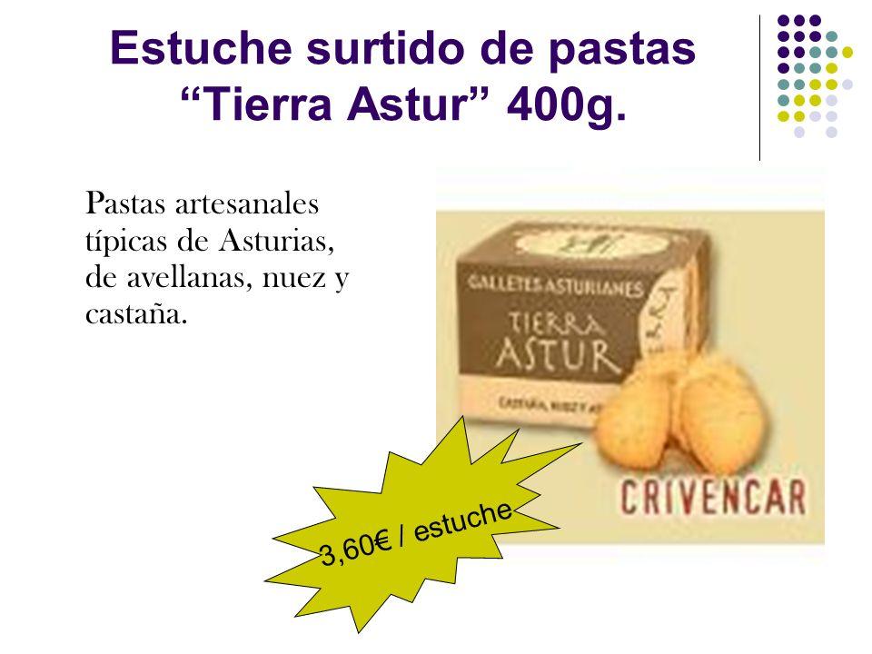 Estuche surtido de pastas Tierra Astur 400g.