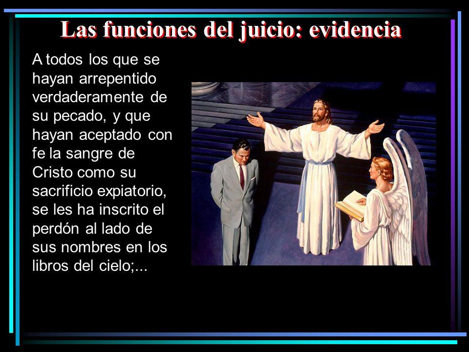 Las funciones del juicio: evidencia