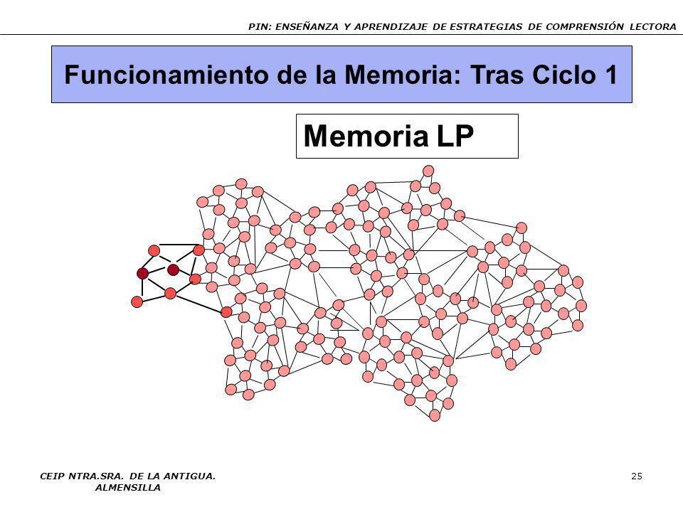 Memoria LP Funcionamiento de la Memoria: Tras Ciclo 1