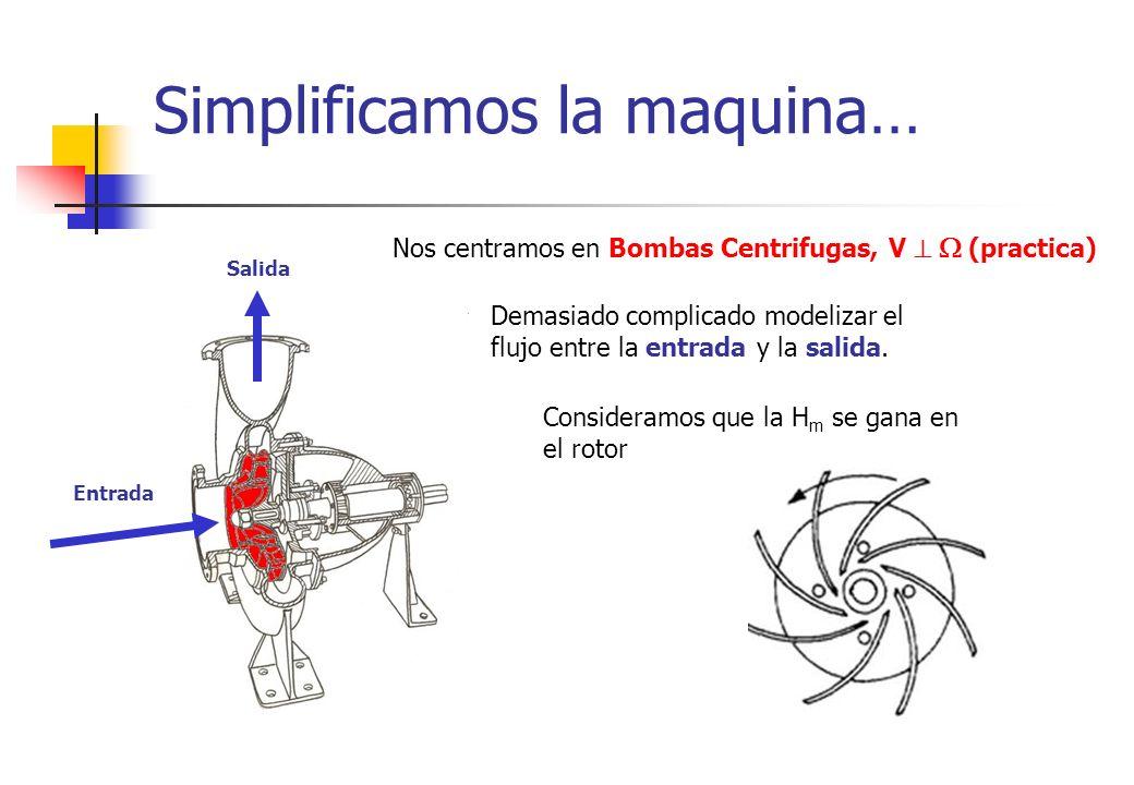 Simplificamos la maquina…