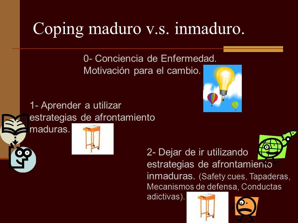 Coping maduro v.s. inmaduro.