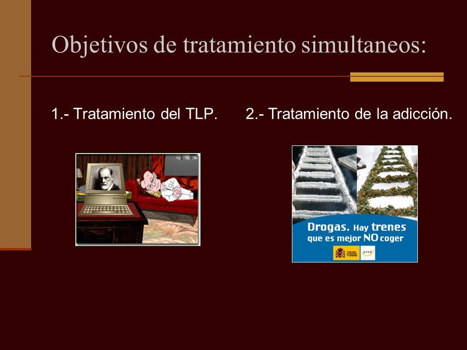 Objetivos de tratamiento simultaneos: