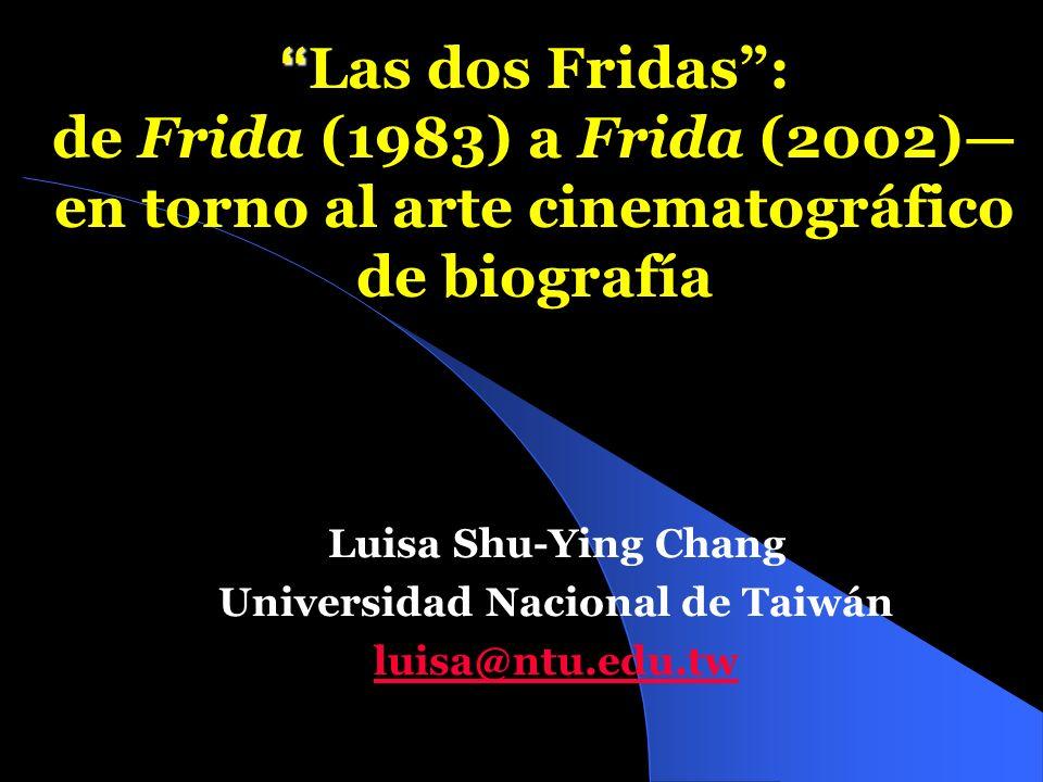 Luisa Shu-Ying Chang Universidad Nacional de Taiwán luisa@ntu.edu.tw