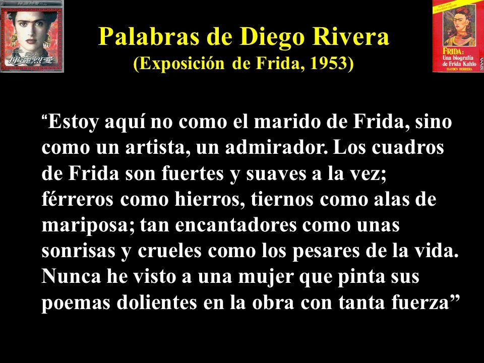 Palabras de Diego Rivera