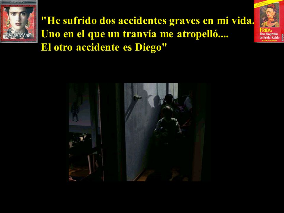 He sufrido dos accidentes graves en mi vida.