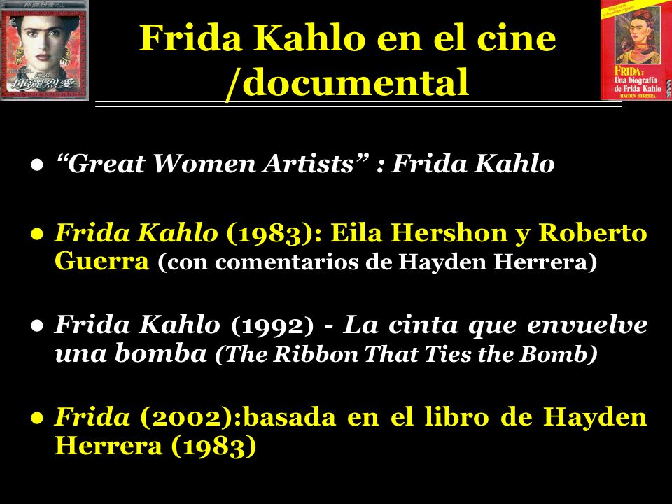 Frida Kahlo en el cine /documental