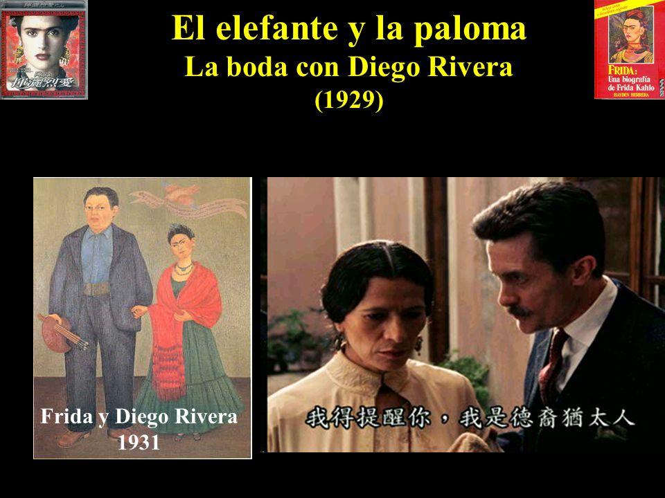 La boda con Diego Rivera