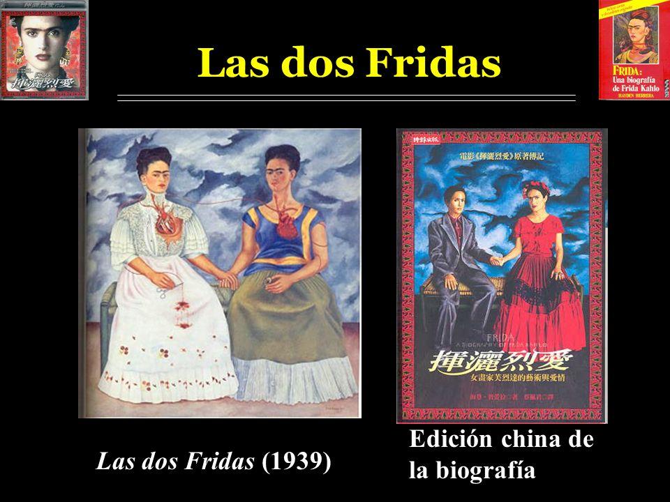 Las dos Fridas Edición china de la biografía Las dos Fridas (1939)