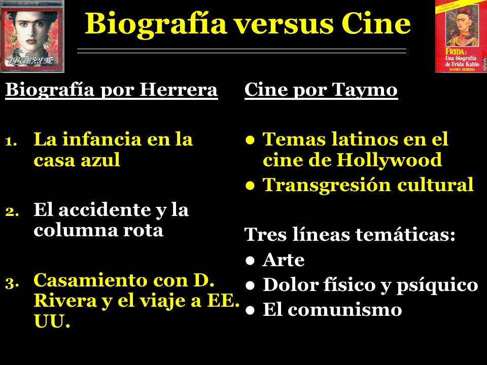 Biografía versus Cine Biografía por Herrera