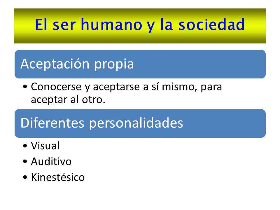 El ser humano y la sociedad