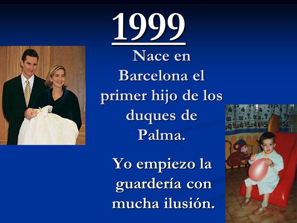 Nace en Barcelona el primer hijo de los duques de Palma.
