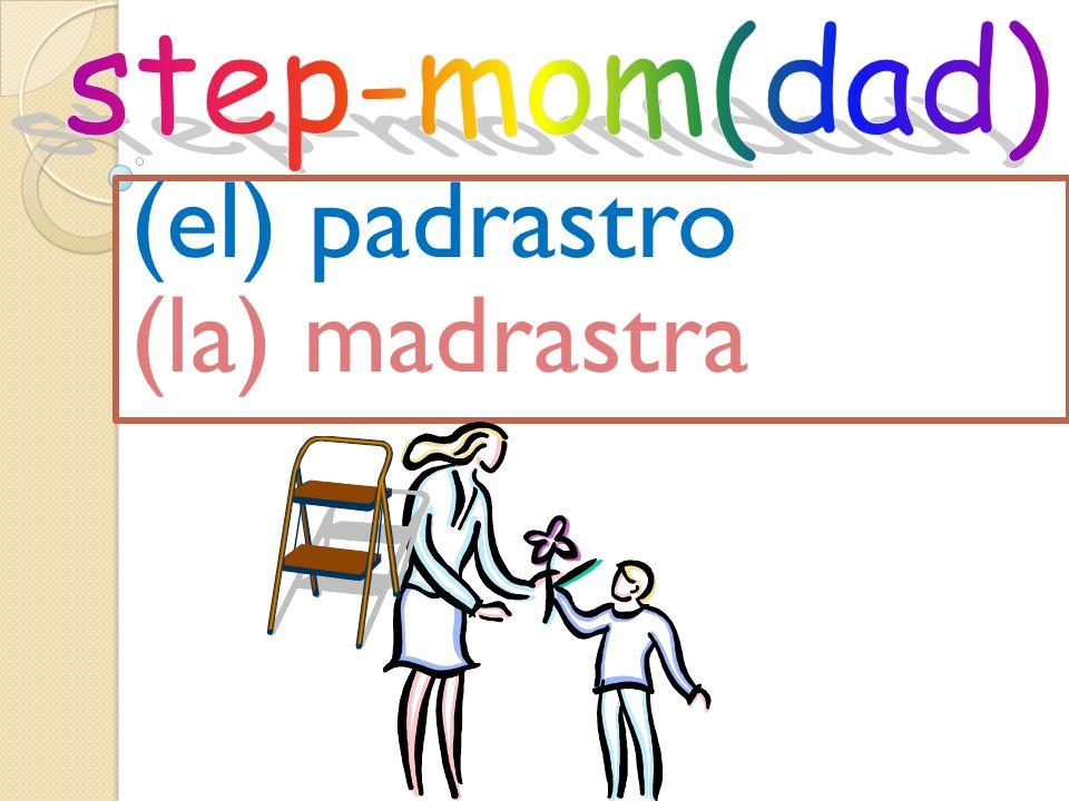 (el) padrastro (la) madrastra