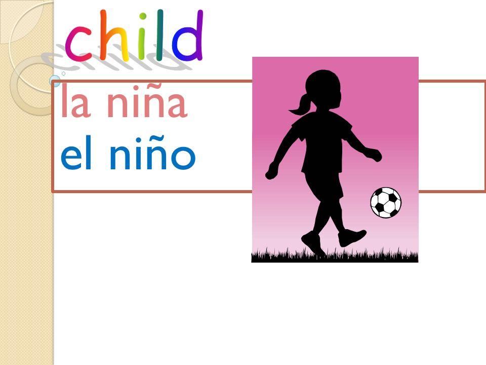 child la niña el niño