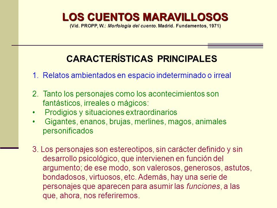 LOS CUENTOS MARAVILLOSOS