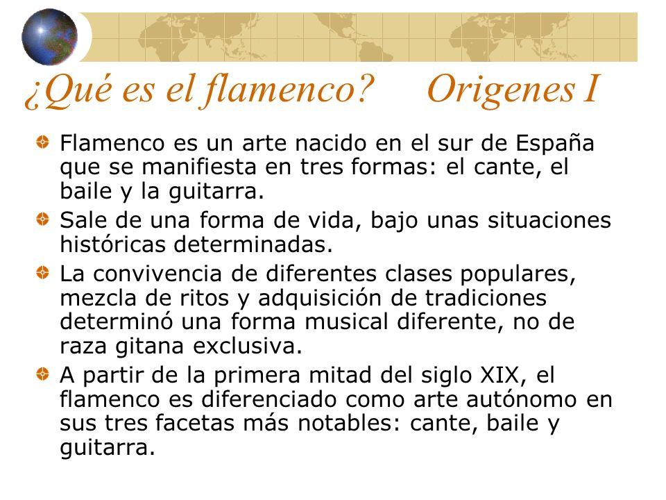 ¿Qué es el flamenco Origenes I