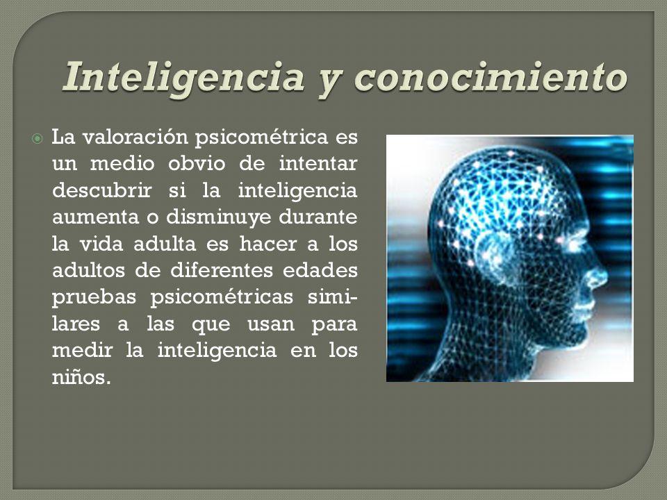 Inteligencia y conocimiento