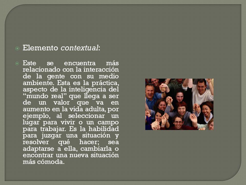 Elemento contextual:
