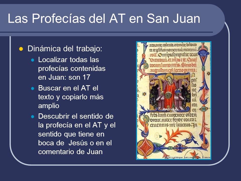 Las Profecías del AT en San Juan