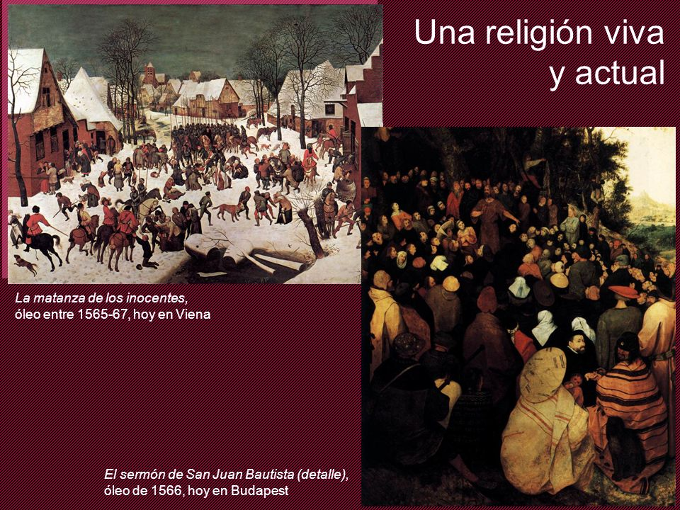 Una religión viva y actual