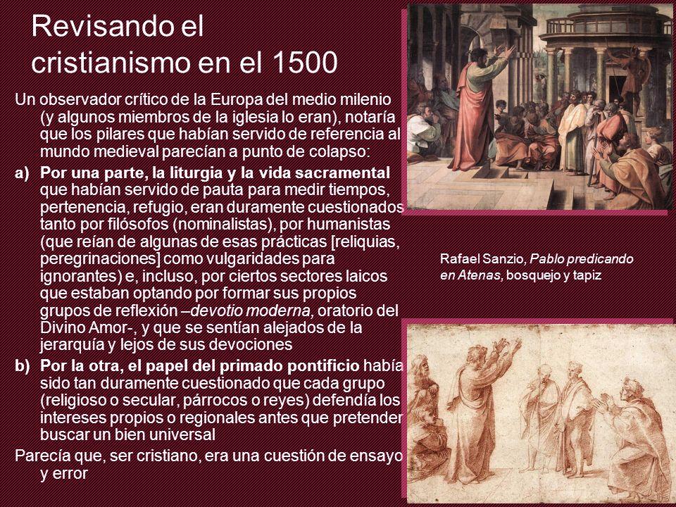 Revisando el cristianismo en el 1500
