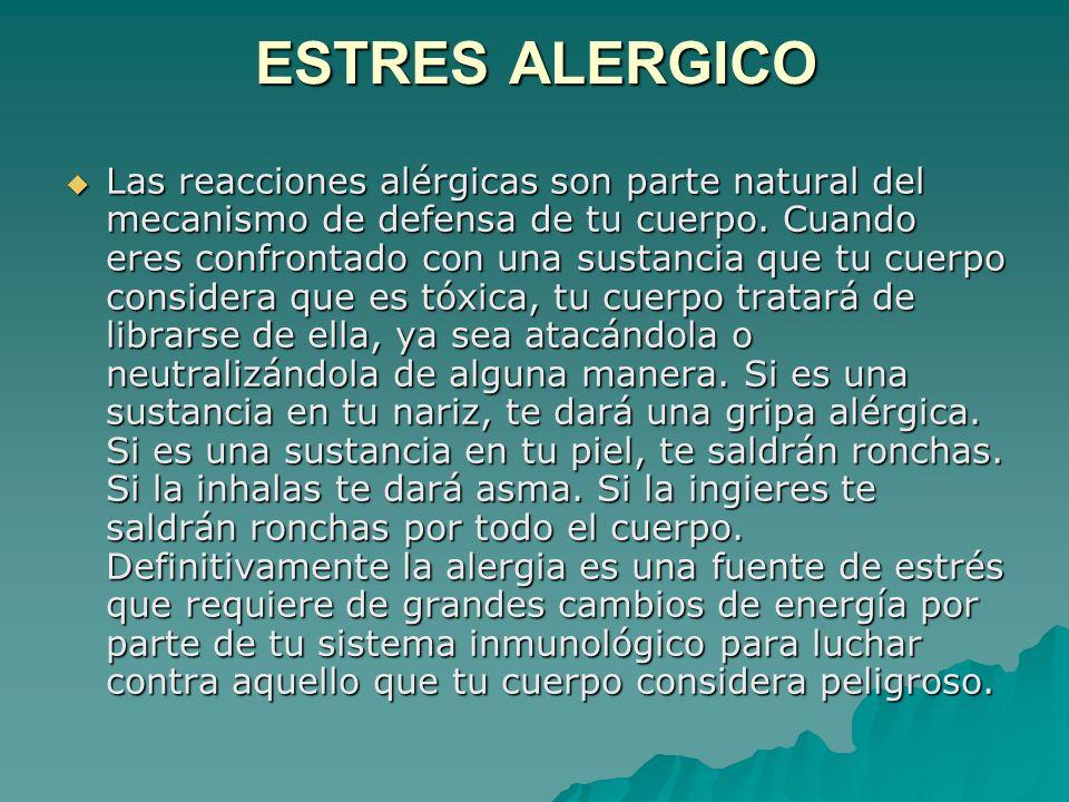 ESTRES ALERGICO