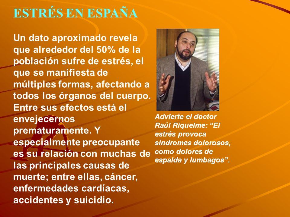 ESTRÉS EN ESPAÑA