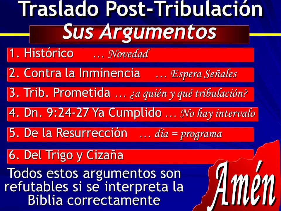 Traslado Post-Tribulación