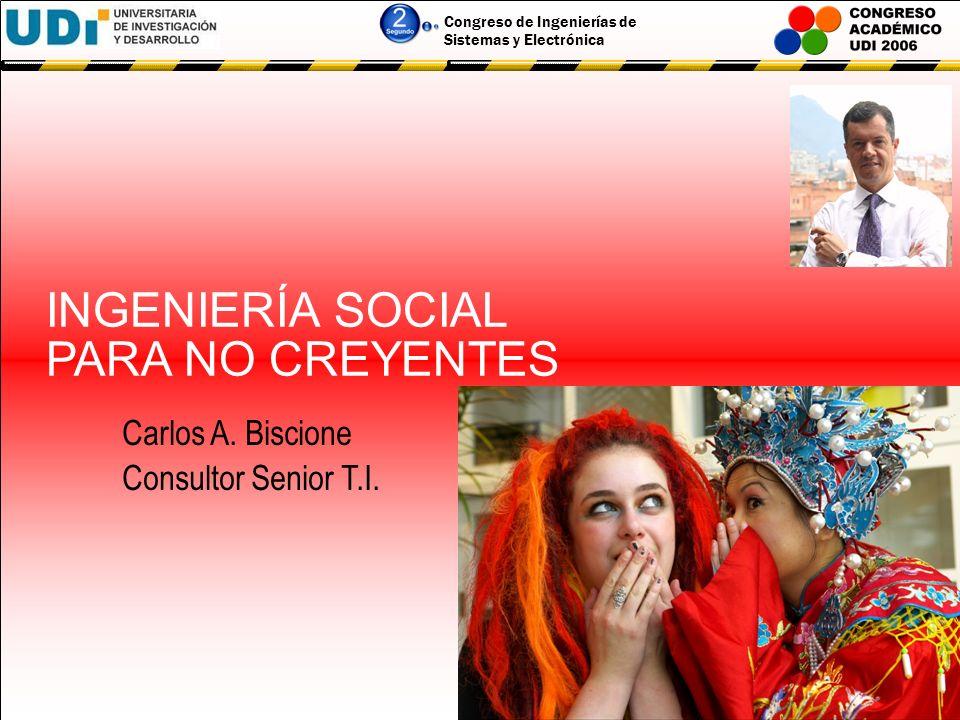 INGENIERÍA SOCIAL PARA NO CREYENTES