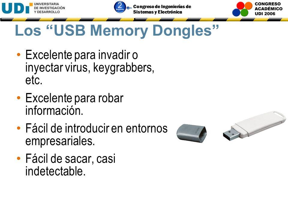 Los USB Memory Dongles