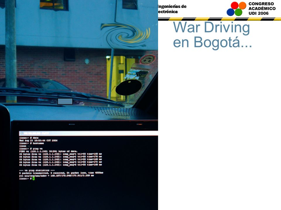 War Driving en Bogotá...