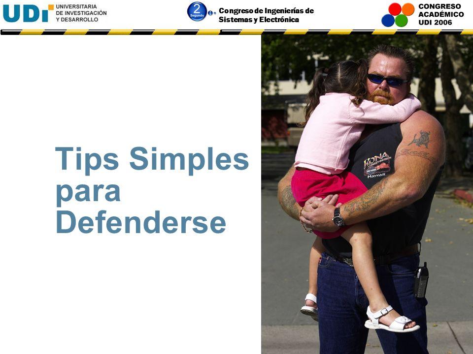 Tips Simples para Defenderse