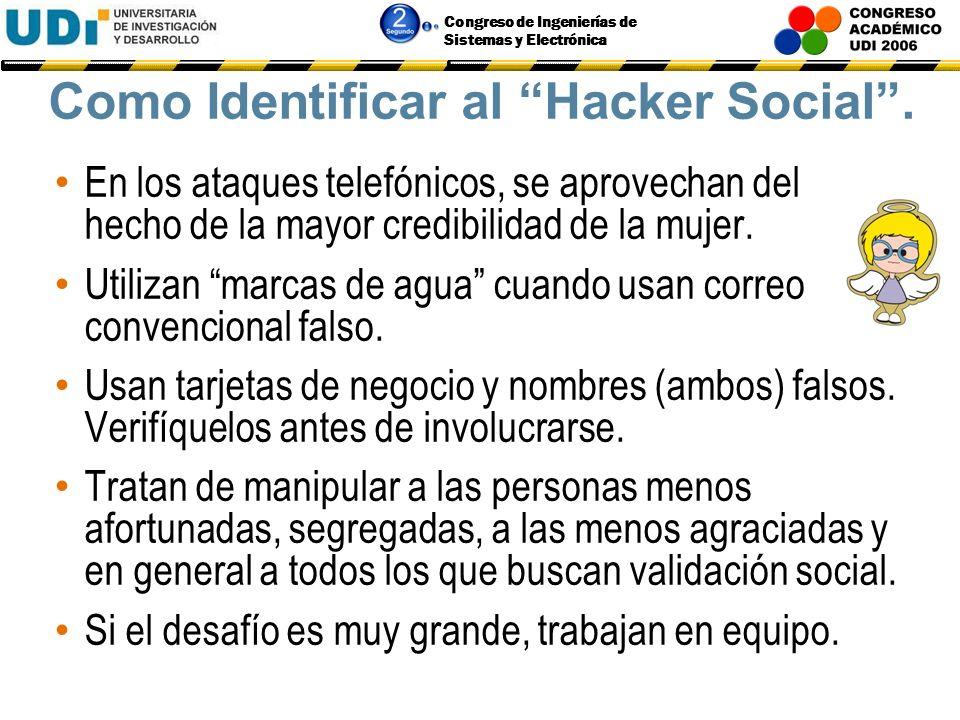 Como Identificar al Hacker Social .