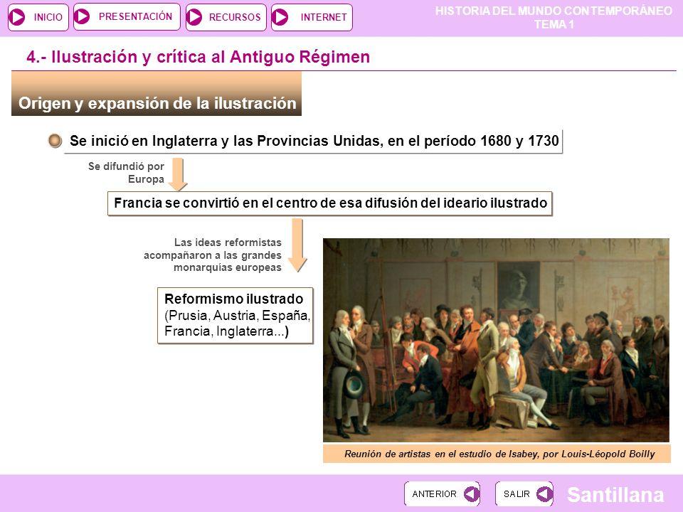 Reunión de artistas en el estudio de Isabey, por Louis-Léopold Boilly