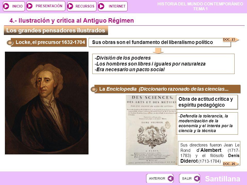 4.- Ilustración y crítica al Antiguo Régimen