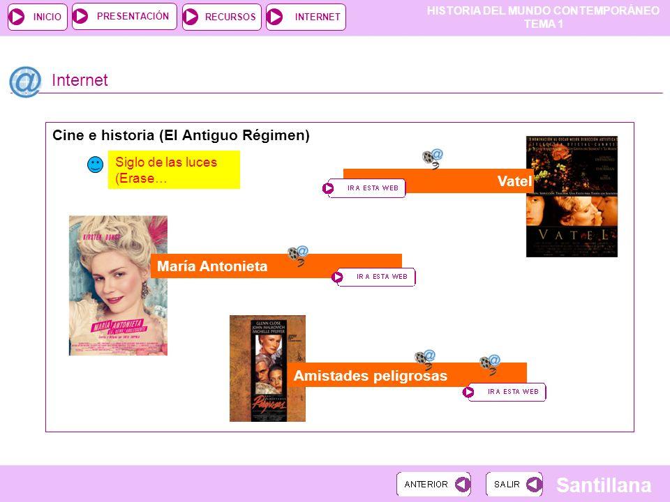 Internet Cine e historia (El Antiguo Régimen) Vatel María Antonieta