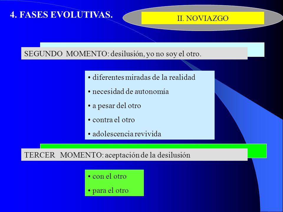 4. FASES EVOLUTIVAS. II. NOVIAZGO
