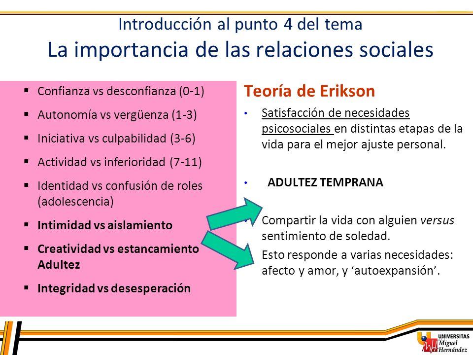 La importancia de las relaciones sociales